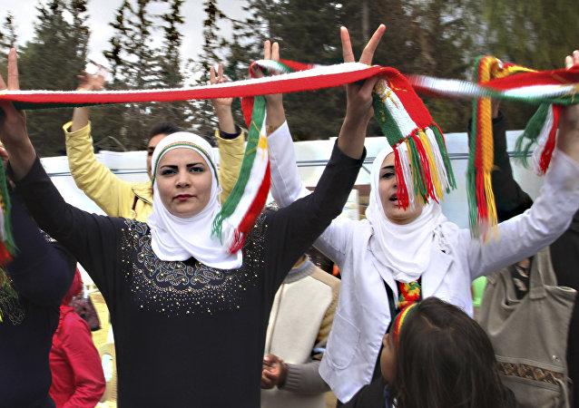 Las kurdas sirias