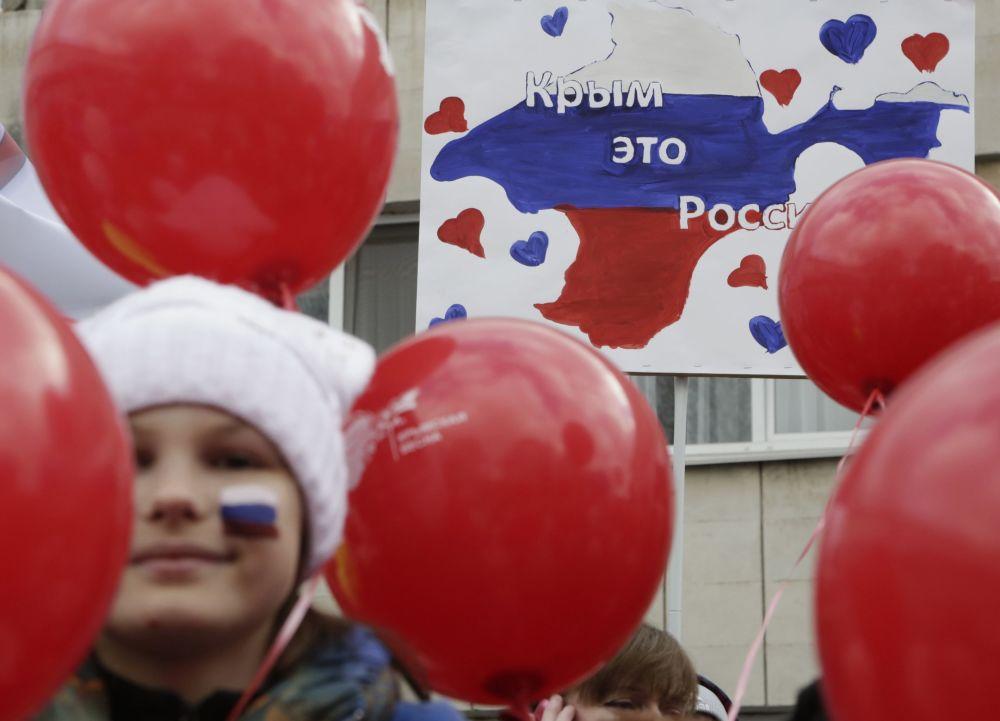 El segundo aniversario de la reunificación de la península de Crimea con Rusia
