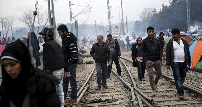 Los refugiados en Europa (archivo)
