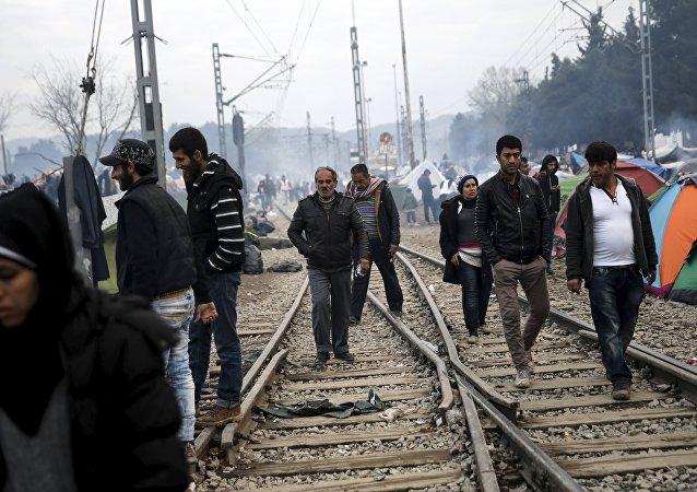 Los refugiados en Europa