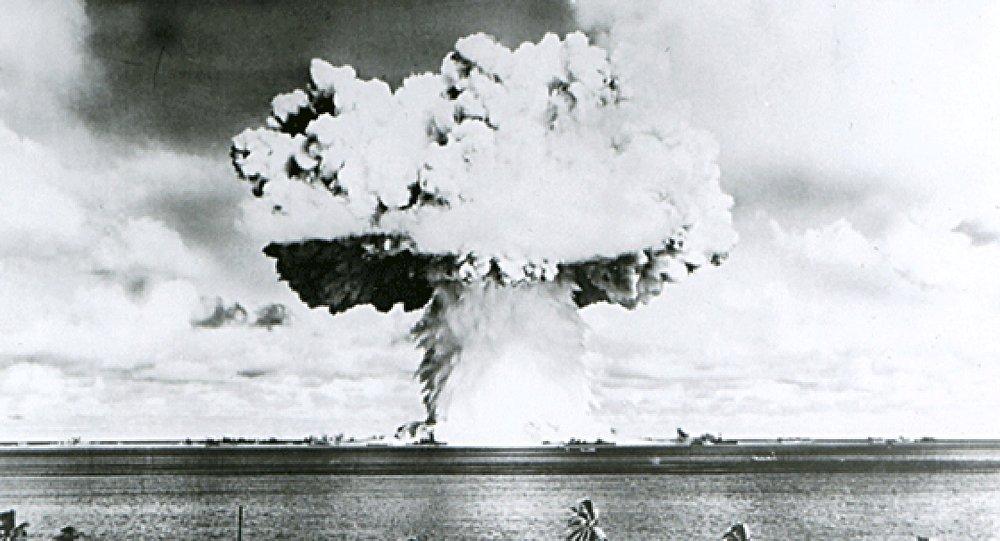 La prueba nuclear de EEUU en el atolón Bikini