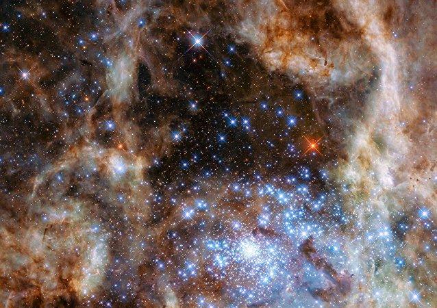 Región central de la Nebulosa de la Tarántula