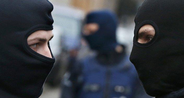 Operación policial en Bélgica