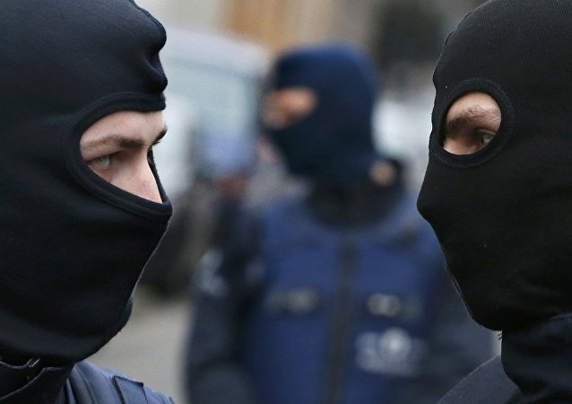 Operación policial en Bélgica (archivo)