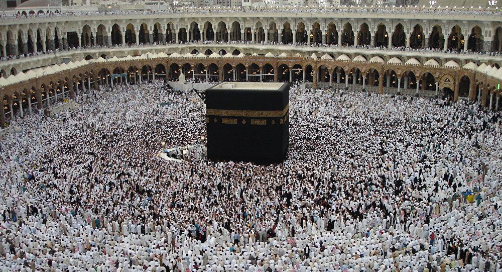Peregrinos en la Meca