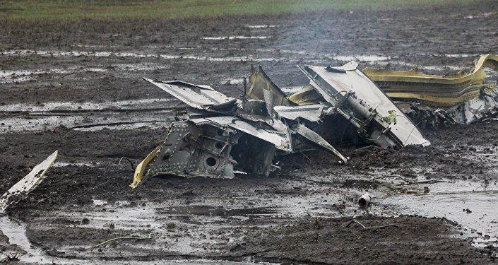 Lugar del siniestro del Boeing en Rostov del  Don, Rusia (archivo)