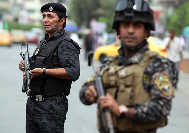 Policía de Irak