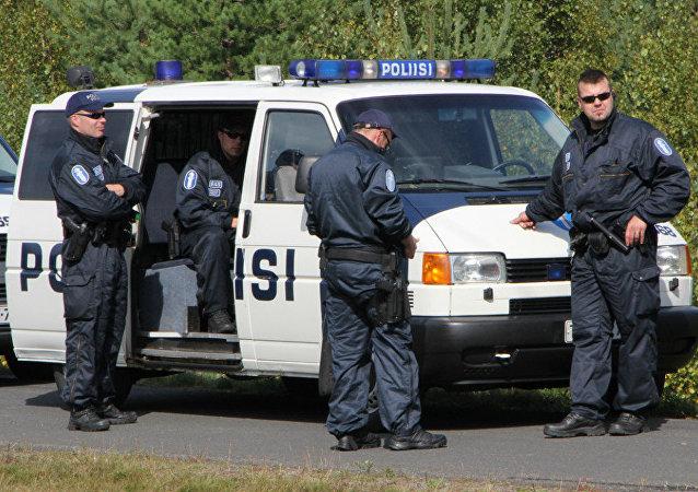 Policía de Finlandia (archivo)