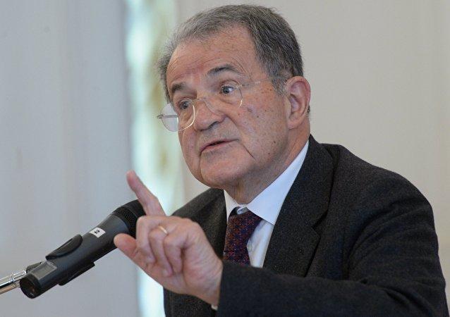 Romano Prodi, ex primer ministro italiano y expresidente de la Comisión Europea