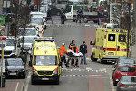 Persona no identificada es rescatada en Bruselas tras explosión en el metro