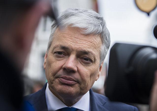 Didier Reynders, ministro de Exteriores de Bélgica (archivo)