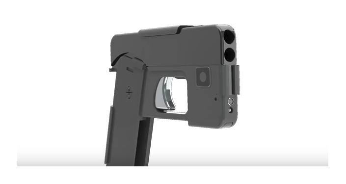 """La pistola """"disfrazada"""" de smartphone"""