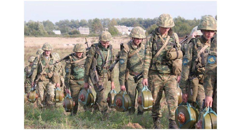 Las Tropas de Ingenieros del Distrito Militar Sur de Rusia