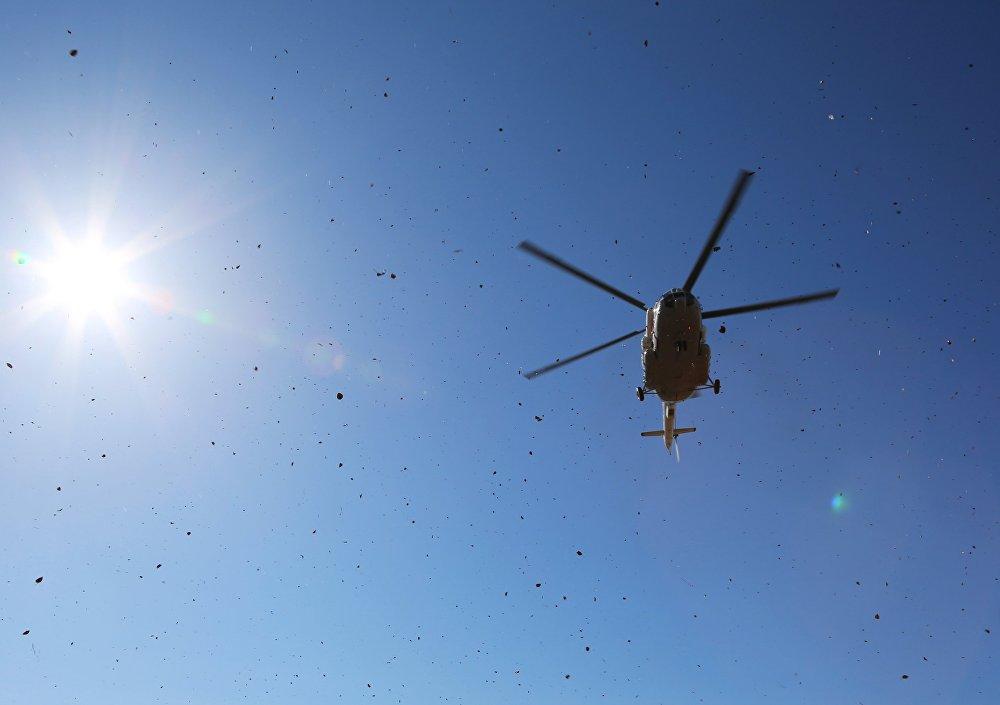 Спасатели МЧС РФ проводят учения по воздушно-десантной подготовке в Амурской области Спасатели МЧС РФ проводят учения по воздушно-десантной подготовке в Амурской области