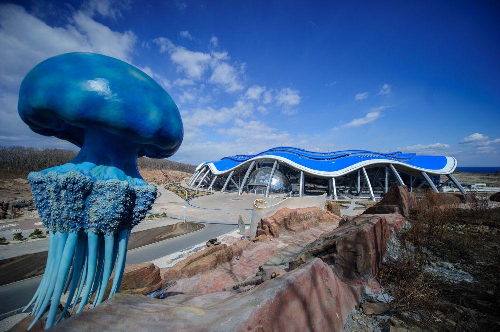 acuario de primorie uno de los ms grandes del mundo