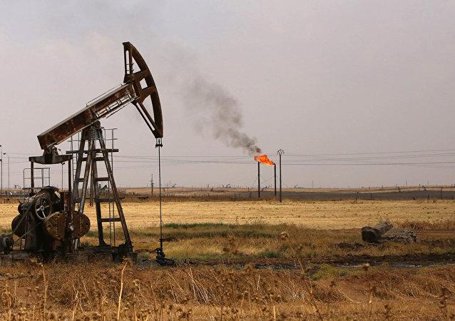 Yacimiento de petróleo en Siria (archivo)