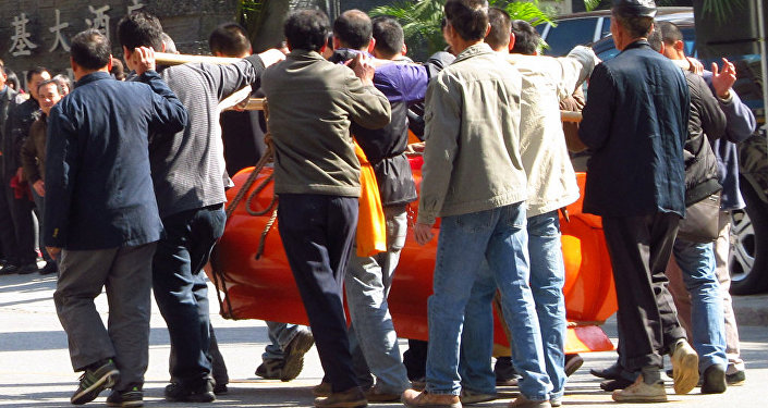 Funerales en Baiyun, China