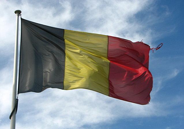 La bandera nacional de Bélgica