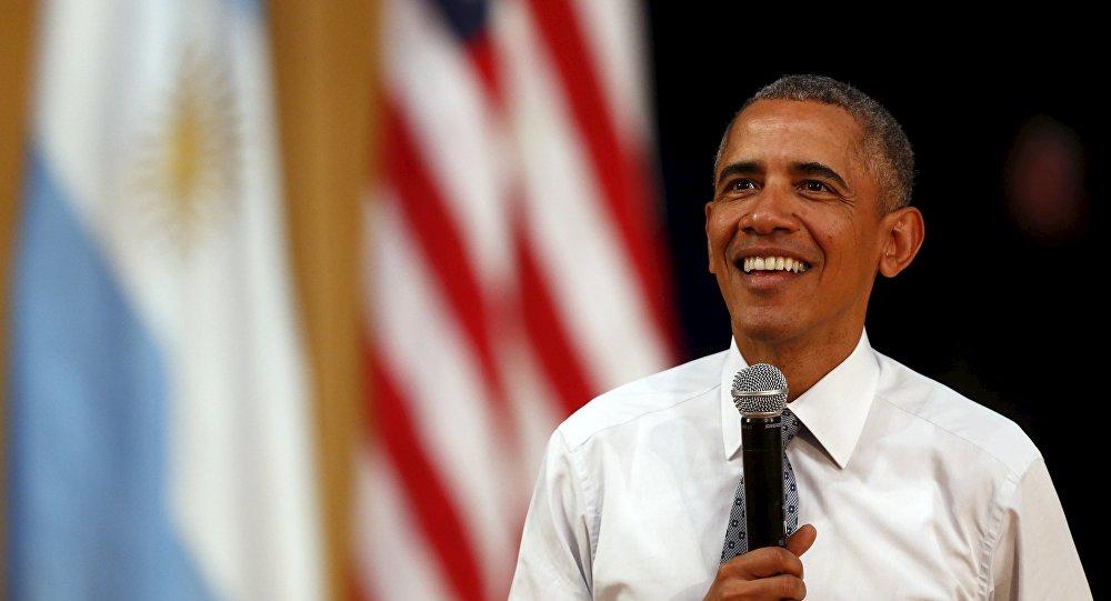 Presidente de EEUU, Barack Obama, en Argentina