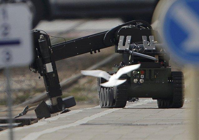 Un robot antiminas