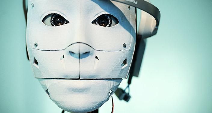 Un robot (archivo)