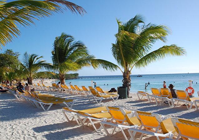 Una playa de Honduras