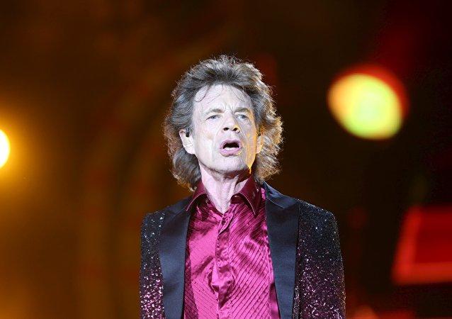 Mick Jagger, cantante de la banda The Rolling Stones
