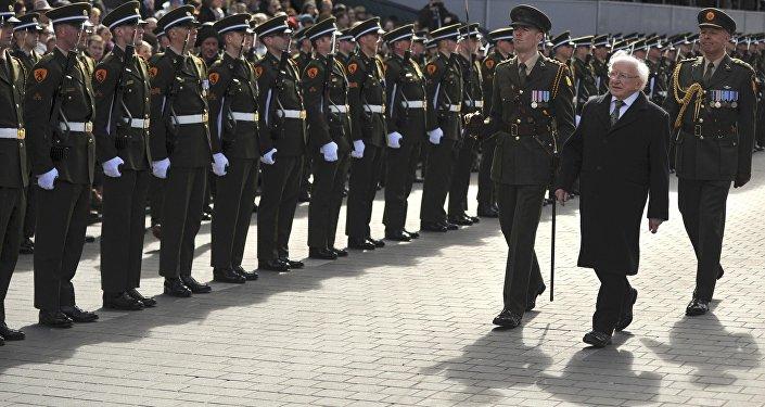 El presidente de Irlanda, Michael D. Higgins