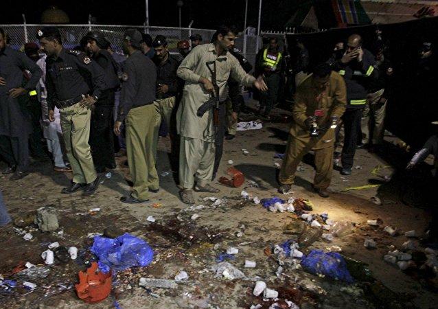 Atentado en Lahore, Pakistán