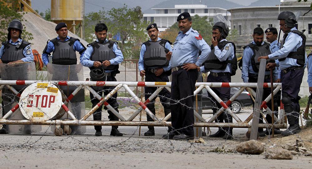 Policía de Pakistán (archivo)