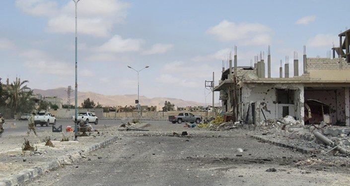 Palmira liberada de los yihadistas que tenían el control de la histórica ciudad desde hacía un año