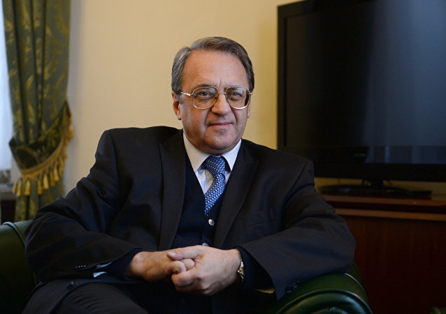 Mijaíl Bogdánov, el representante especial del presidente ruso para Oriente Medio y África