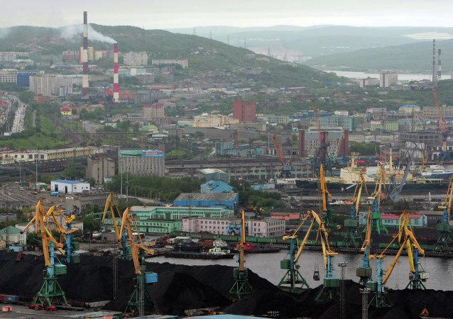 El puerto de Múrmansk
