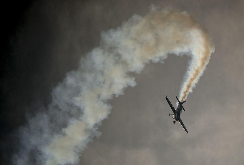 Apertura del Feria Internacional del Aire y del Espacio en Santiago de Chile