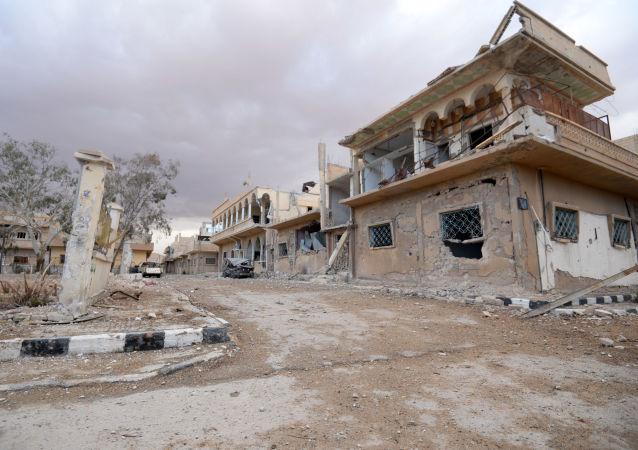 La situación en Palmira
