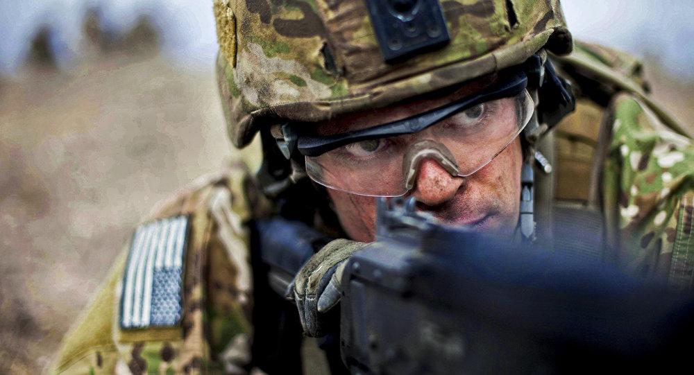 Militar estadounidense (imagen referencial)