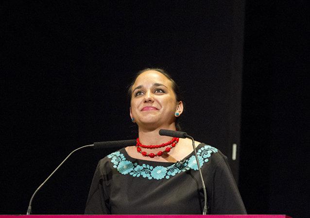 Gabriela Rivadeneira, presidenta de la Asamblea Nacional de Ecuador