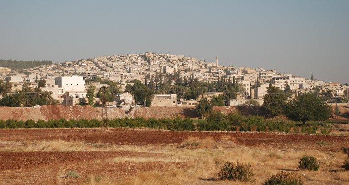 Ciudad siria de Afrin
