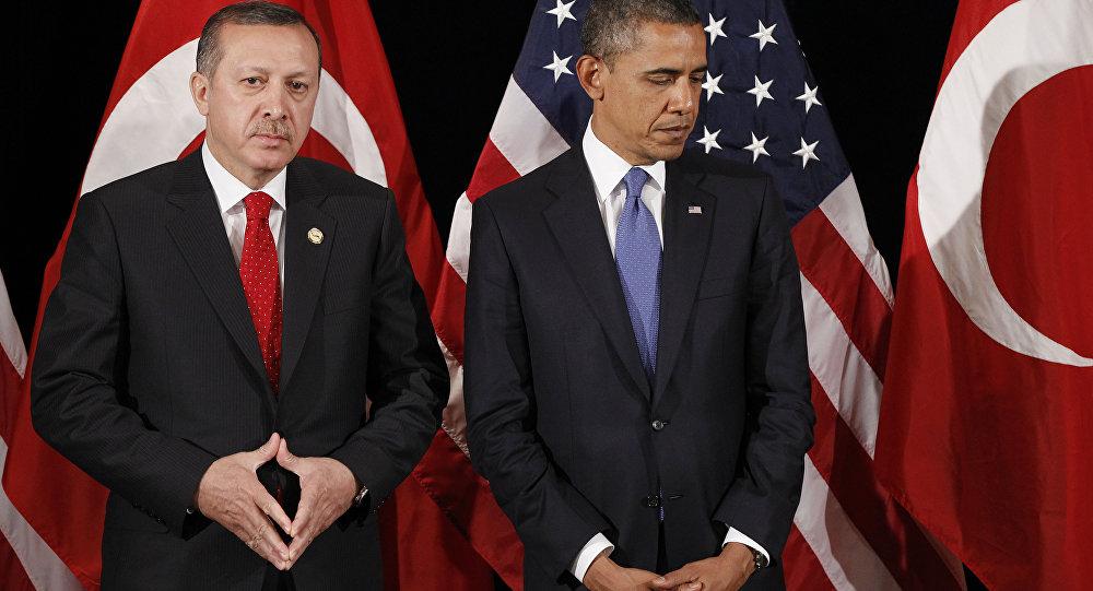 Presidente de Turquía, Recep Tayyip Erdogan, y presidente de EEUU, Barack Obama (Archivo)
