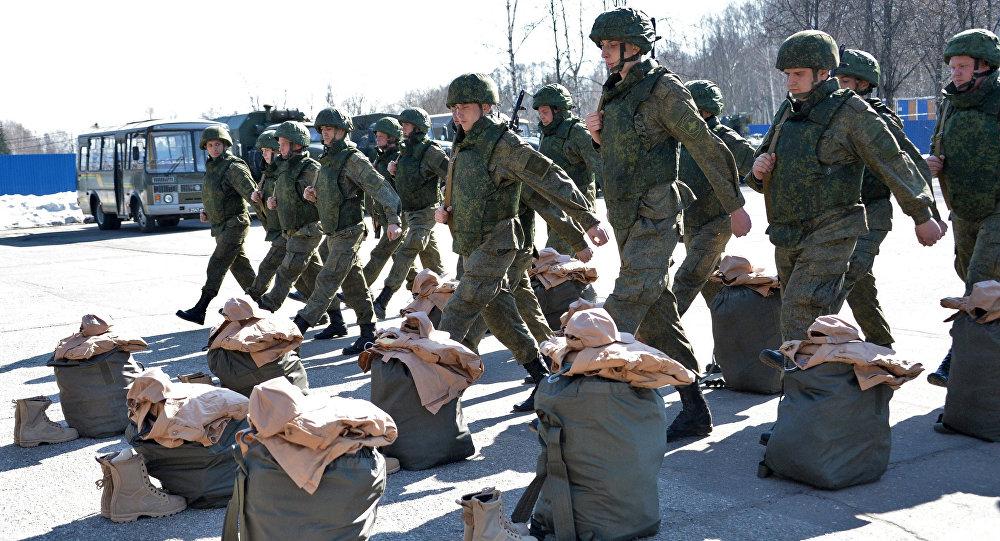 Zapadores rusos listos para partir a Palmira para realizar tareas de desminado
