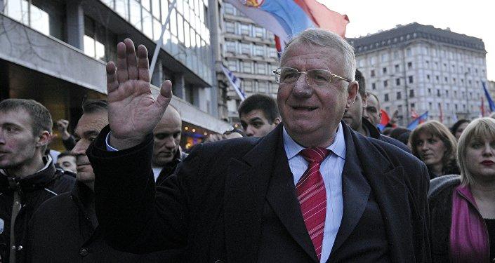 Vojislav Seselj, nacionalista serbio