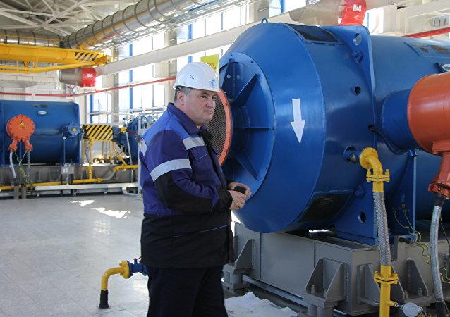 Refinería de petróleo en Skovorodino, Rusia
