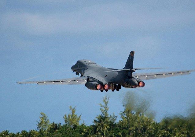 El bombardero B-1B de las Fuerzas Aéreas de EEUU (archivo)