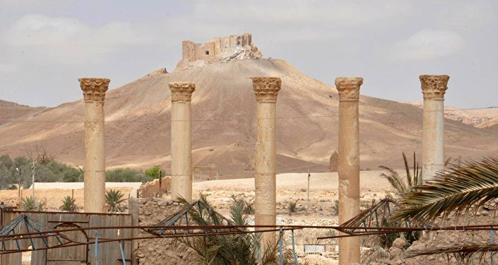 La сiudadela de Palmira (archivo)