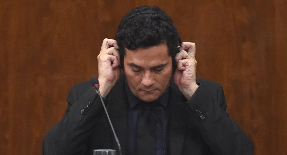 Sérgio Moro, juez federal brasileño