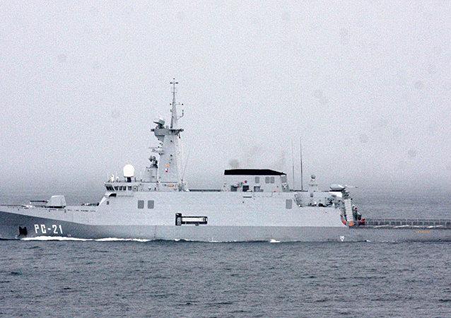 Patrullero oceánico venezolano Guaiquerí (archivo)