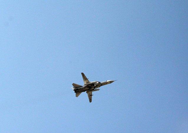 Caza ruso Su-24