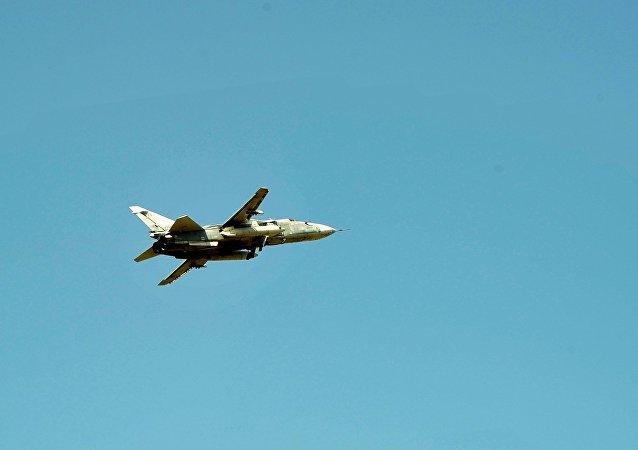 Avión militar ruso Su-24