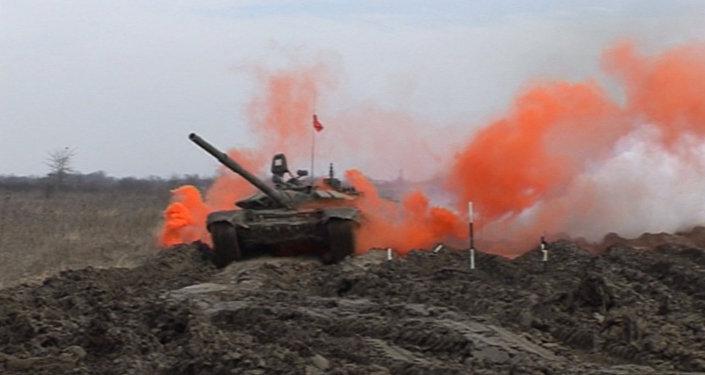Biatlón de tanques 2016: Los furiosos T-72 y T-90