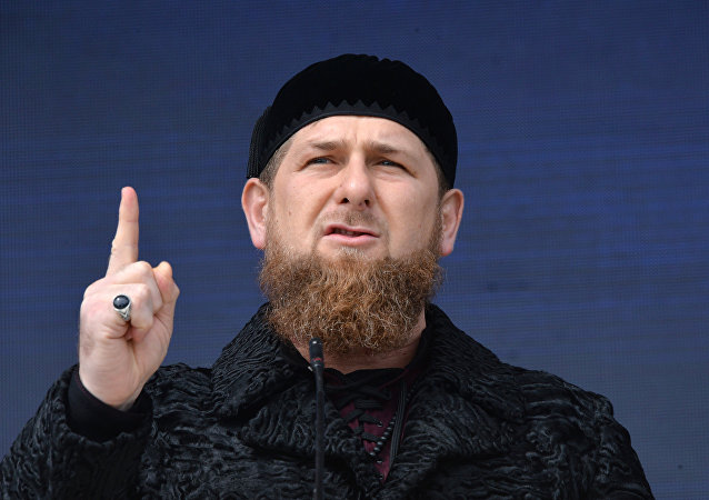 Ramzán Kadirov, jefe de la República rusa de Chechenia
